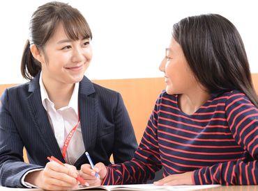 大学生~主婦さんまで幅広い年代の方が活躍中!スタッフはほとんど未経験からスタートしています◎安心してご応募ください♪