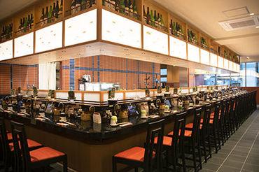 『いま美味しい魚』が味わえる回転寿司店★雅やかな店内で加賀百万石のおもてなし♪三軒茶屋駅チカ★オシャレな店内♪