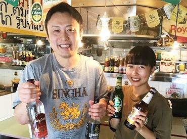 \こちらは『カオマンガイ』/ 優しい店長(写真左)のタイ料理店◎ 初バイトでも授業が忙しくても あなたのペースで大丈夫です♪