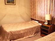 客室の一例です。かわいらしいキレイなお部屋です。 お気軽に応募してくださいね!