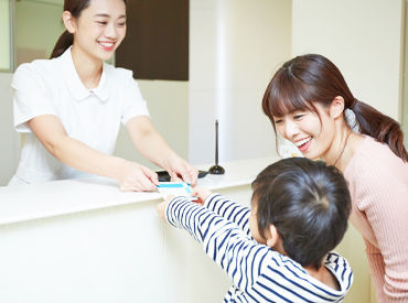 \帝京大学前のクリニックです!!/ 患者様の中には学生さんもいます♪ 地域密着型の歯医者でバイトしませんか?
