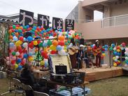 """系列の施設の様子はこんな感じです!""""ケアホーム西東京""""でも入居者さんといっしょに楽しめるイベントなどが沢山あります!"""
