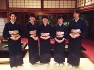 京都で着物のアルバイト★ 意外とこんなバイトって少ないですよね。 是非、弘で素敵な経験をして下さいね♪