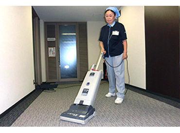 ◆ 清掃業務が初めての方もOK ◆ 事前に座学と現場での実習があるので、 安心してご応募ください♪