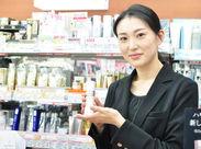 【化粧品担当スタッフ】 経験を活かしてあなたの笑顔と接客で多くのお客様を喜ばせてください♪