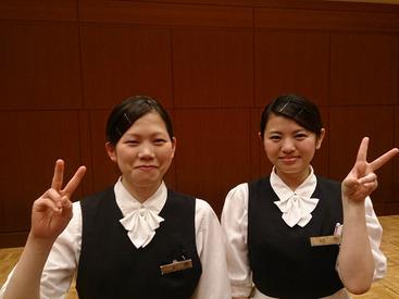 【サービススタッフ】\\゜*★憧れのホテルで働こう★*゜//≪週1日~OK≫宴会サービスのお仕事です♪未経験大歓迎◎京都駅直結でラクラク通勤!