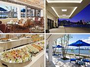 高級感のある優雅なホテルや結婚式場などがあなたの活躍の場です!美味しいお料理と楽しい時間を、ご提供しましょう★+゜