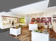 ≪高時給1250円≫で安定収入GET◎ パリの本店以外には、この赤坂のお店だけ!