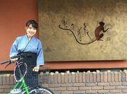 自転車通勤OK◎自転車で通勤のスタッフさん多数!吉祥寺駅かた近いので、電車通勤もラクラクです♪