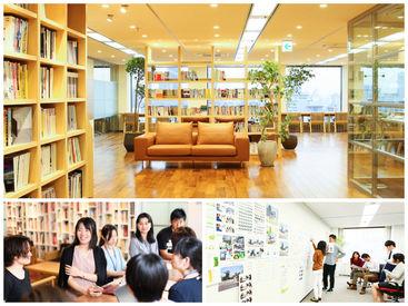 大阪国際ビルディング15F! 本町駅・堺筋本町駅すぐ◎ 20〜30代のアートディレクター、デザイナー、ライターなど内製化。