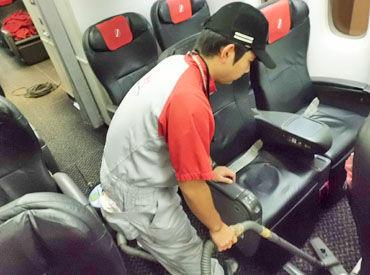 【雑誌の補充/機内シート清掃】━━勤務地ドコって…???めっちゃレア!なんと、大阪国際空港内の飛行機の中!!!!週2日~JALの制服着ながら働けちゃいます◎