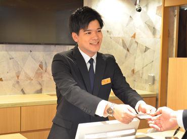 未経験からできるホテルのお仕事です♪シフト相談も受け付けているので、自分のペースで長く働くことができます☆