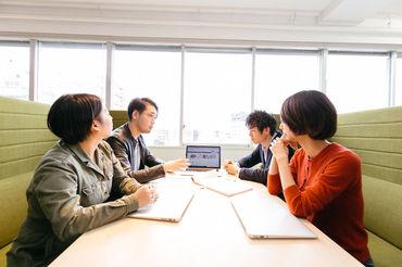 オフィスは、カフェ風のリラックスした雰囲気◎ コミュニケーションや仕事も、自然とはかどります♪*
