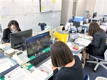 ◆女性活躍中のキレイなオフィス◆あたたかい雰囲気で、あなたらしくお仕事できますよ◎