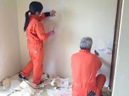 当社では一軒家やマンション・オフィスなどさまざまな清掃を手がけています。慣れると早く終えられるのが働きやすいポイント!