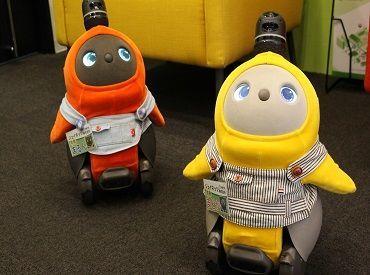 【ジェイネッツの専務と常務!?】 仕事に疲れたときは かしこ可愛いAIロボット仲間が癒してくれるかも…?