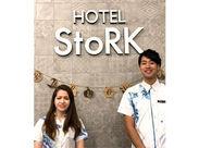 ★新都心にあるHOTEL StoRK★接客・マナーが基本からシッカリ身につきます♪語学を活かしたい方にもオススメ◎