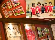 誰もが楽しく&オシャレに働ける! なんと、制服はサッカーのユニフォーム! カッコイイ制服を友達に自慢しちゃおう(*бωб)