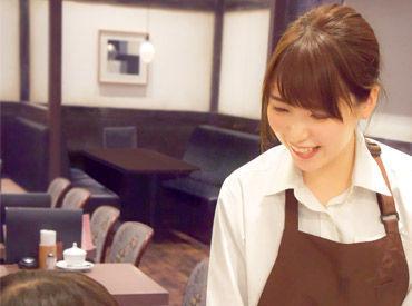 【Cafeスタッフ】卒業までの期間、持て余しそうなら☆彡ずっと働いてみたかったCafeスタッフになれるチャンス♪【 短期OK 】週2日~。+゚