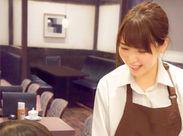 ●●● オトナCafeで働きたい♪ ●●● 卒業までの「短期勤務」も大歓迎★ 時短勤務など、シフト相談OK♪