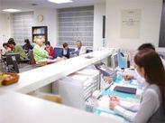 安定した病院でのお仕事♪患者様からの「ありがとう」がやりがいに!先輩スタッフがしっかりフォローするので、安心です。