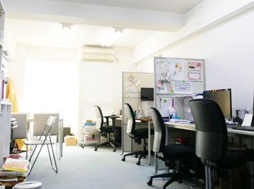 幡ヶ谷駅からスグ★落ち着いた雰囲気のオフィスでお仕事できます◎