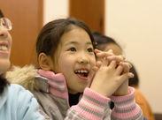 教室では、子どもたちはいつだって笑顔♪