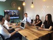 営業やコピーライターと連携を取りながら、高品質なクリエイティブを生み出していくことに熱中できる環境です!