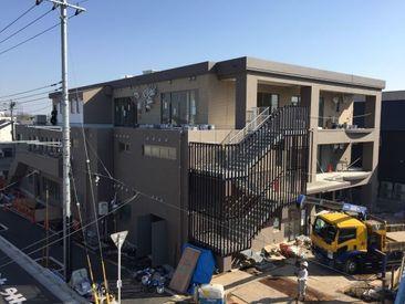 現在建設中★泉小学校跡地に5月オープン! 新しく綺麗な施設で働けます◎ 不明なことは応募時にお気軽にお問い合わせください♪