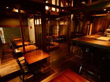 ≪日本家屋をリノベーションして6年を迎えました!!≫夏はテラスでBBQやビアガーデンをすることも♪毎年大人気です!!