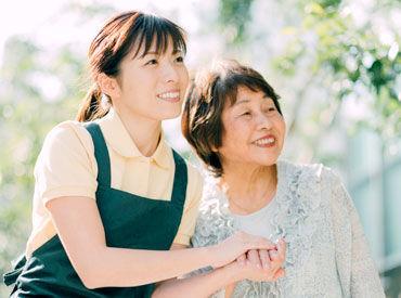◆おもてなしの心 ◆人の想いを汲み取ること ◆みんなを笑顔にしたい気持ち 共通点が多い「接客」と「介護」♪ ※画像はイメージ