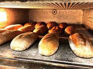 未経験から憧れのパン作りのお仕事にチャレンジできます♪小麦が焼ける、いい香りがする職場ですよ◎ ※画像はイメージです。