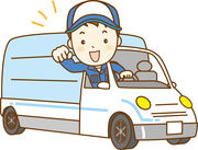 配送中の車内は自分時間です★ 好きな音楽を掛けながら、楽しく運ぶことも出来ちゃいますよ♪+。・
