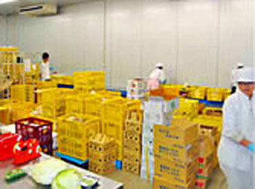 ☆★ 新鮮なお野菜を食卓へ… ★☆  農林水産省から表彰されるなど 安心して働きやすい会社ですよ◎