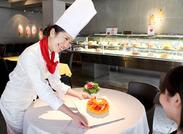 ★クールなインテリア&ライブキッチンがオシャレ 「ケーキ作りの勉強をしたことがある」「フルーツが大好き」という方大歓迎!