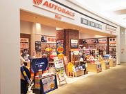 イオンモール高松内の小さな店舗♪覚える商品もそんなに多くありません。仕事の前後に買い物もできて、とっても便利◎
