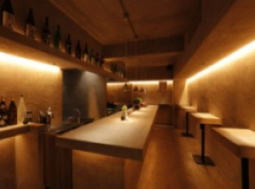 \日本酒立ち飲みバー/ 日本酒が好きな方もそうでない方も みんな大歓迎♪ 種類がわからなくても、番号があるので 大丈夫!