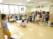 小学1~3年生が約180人ほど在籍している施設になります! 元気な子どもたちに囲まれながら、いっしょに働いてみませんか♪