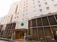 リニューアルしたてのキレイなホテルで働こう♪長堀橋駅からスグなので通勤がとっても快適ですよ◎