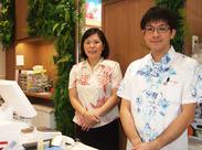 沖縄定番のお菓子/果物/冷蔵商品など、沖縄の食品を販売するお仕事♪毎日色んなお客さまとの出会いがありますよ◎