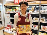 名古屋ならではのご当地商品も多数♪ レジ・品出しなどお仕事はシンプル★ 困った時のフォロー体制も抜群です◎