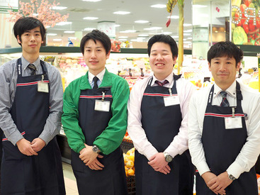 【スーパーマーケットSTAFF】\3月1日よりNEW制服になりました♪/学校終わりや家事のスキマ時間にサクッと◎貴方が働きたい曜日や時間を教えてください*