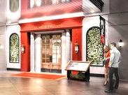 フランスに本店を構える、有楽町駅から徒歩1分の「ラ・メール・プラール東京」。赤を基調とした外観が印象的なお店です♪