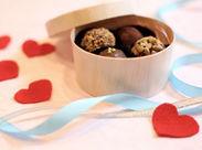 バレンタインチョコレートの販売♪