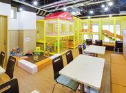 キッズスペース完備♪ 沼津港に遊びに来た親子がくつろげるカフェスです◎