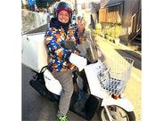 【風防つきのバイク】で… 寒い冬の日でも安心です◎ ちなみに写真は優しい店長です♪