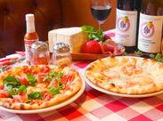 """本場イタリアの味を伝授します◎ お客様にとっておきの""""お食事タイム""""をご提供♪ ママ友会・女子会・家族でのランチにも人気+*"""