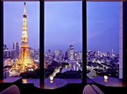 """★都心の高級ホテル""""ザ・プリンスパークタワー東京""""でのお仕事★おしゃれな空間で、優雅に働けるチャンスですよ♪"""