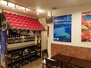 """""""アチコーコ""""とは琉球語で""""出来立てほやほや""""という意味です! 沖縄で10年修業した店長がつくる料理は絶品ですよ♪"""
