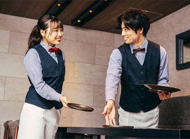 \スマートでカッコイイ接客が学べる/ お皿の出し方から教えます! 高い接客スキルが身に付きます♪